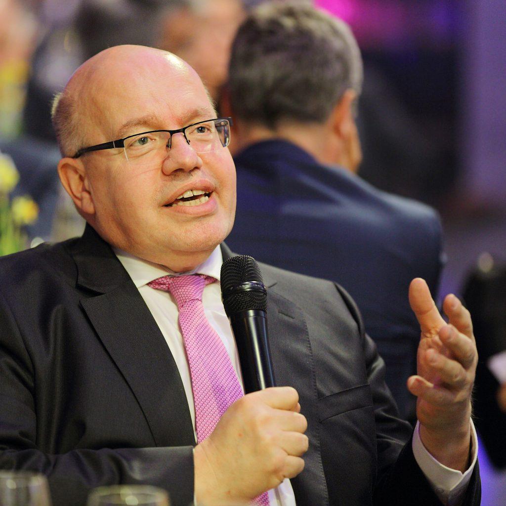 Wirtschaftsveranstaltung im Kesselhaus in München mit Bundeswirtschaftsminister Peter Altmaier, fotografische Begleitung durch Stefan Obermeier Fotografie