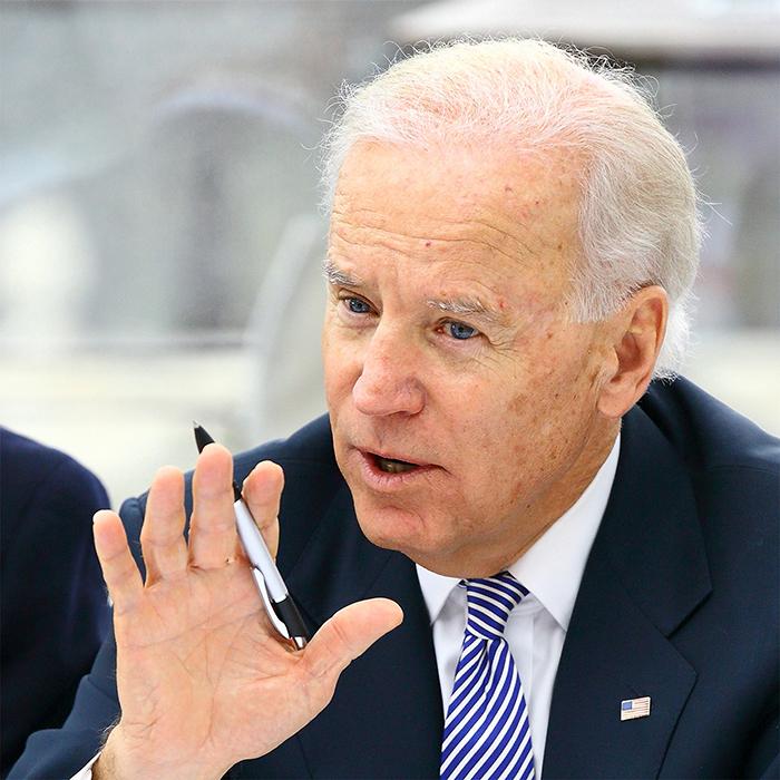 Politikfotografie von Stefan Obermeier Fotografie anläßlich der Münchner Sicherheitskonferenz, Portrait des neuen US-Präsidenten Joe Biden