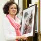Portrait entstanden in der Kunstsammlung, Businessfoto mit Kunst von Arnold Odermatt, Portraitphotographie von Stefan Obermeier Fotografie im Kunstdepot der Hypo Vereinsbank