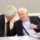 Der entscheidende Moment - mit Bundeskanzler Helmut Schmidt bei einem Event mit Spitzenvertretern aus Politik und Wirtschaft, Pressefoto von Stefan Obermeier Fotografie